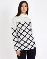 cream Michael Mortell Jacquard Sweater (Limited Edition)