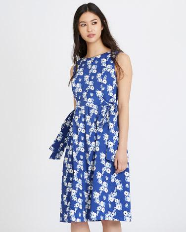 printMichael Mortell Print Dress