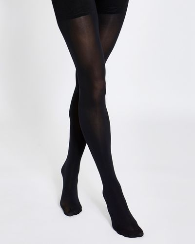 60 Denier High-Waisted Opaque Tights thumbnail