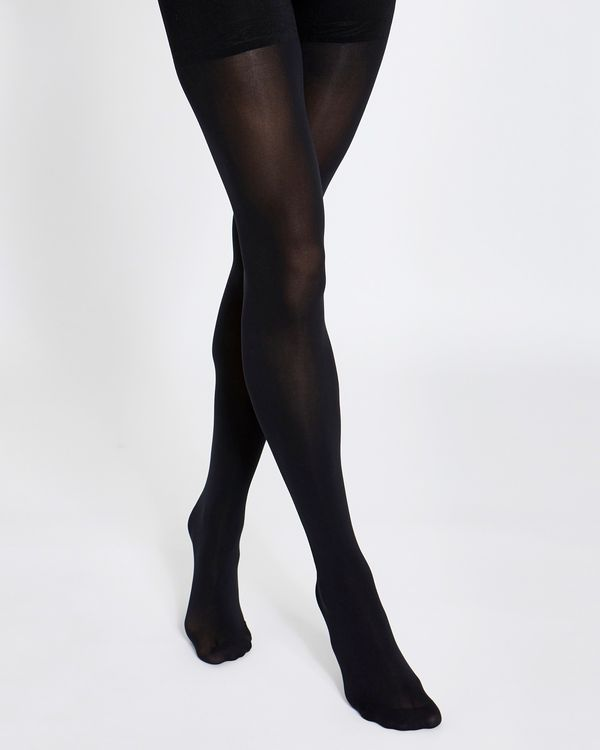 60 Denier High-Waisted Opaque Tights