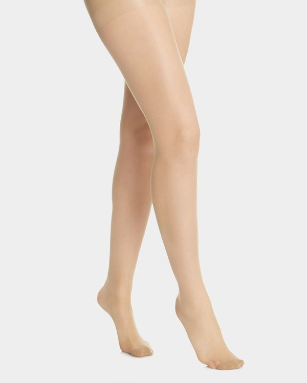 15 Denier Bodyshaper Shine Tights - Pack Of 2