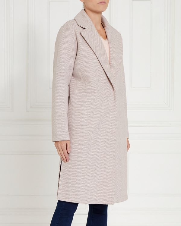 Gallery Herringbone Coat