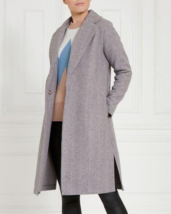 Gallery Herringbone Coat