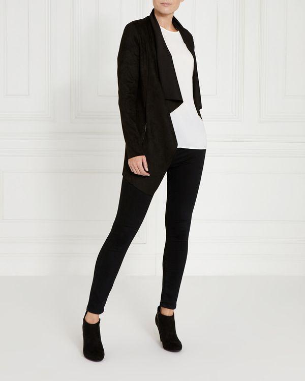 Gallery Suedette Jacket