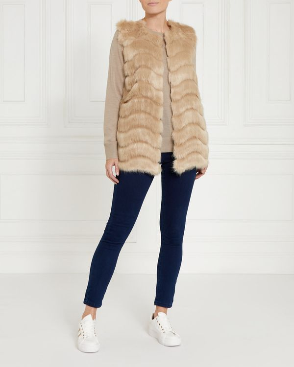 Gallery Faux Fur Gilet