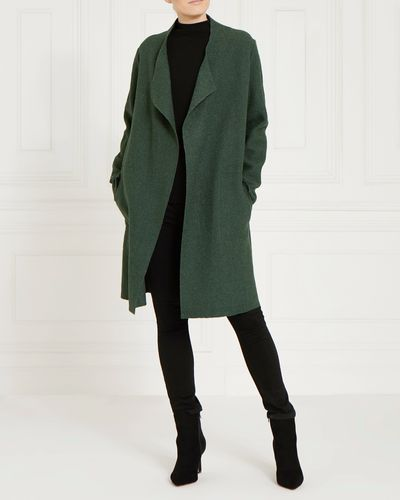 Gallery Drape Front Coat