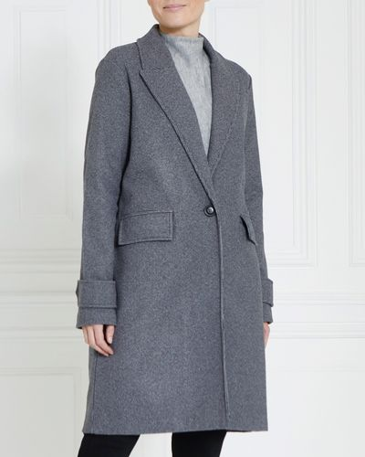 Gallery Mini Check Coat