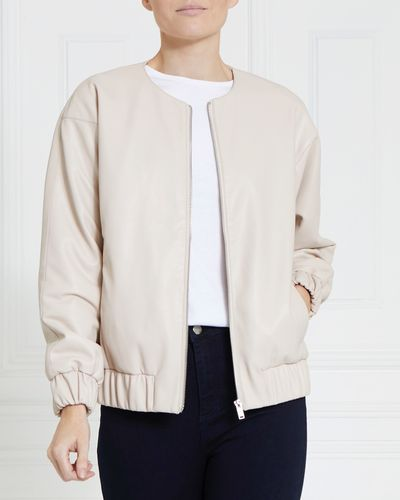 Gallery PU Bomber Jacket