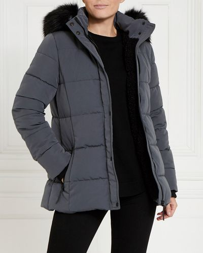 Gallery Faux Fur Hood Jacket