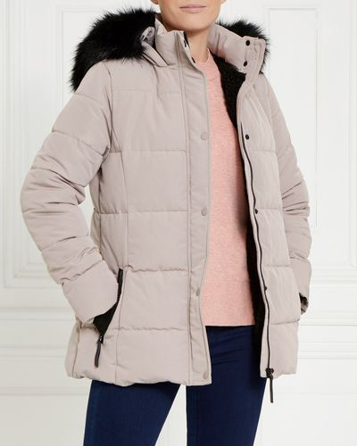 Gallery Faux Fur Hood Jacket thumbnail