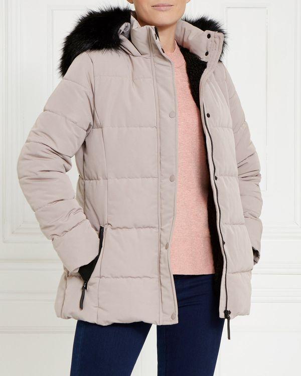 Gallery Faux Fur Hood Jacket