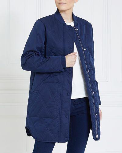 Gallery Diamond Quilt Coat