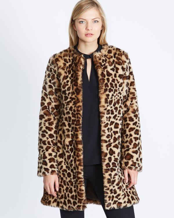 Gallery Leopard Coat