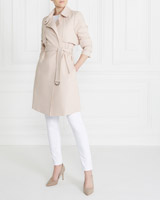 blush Gallery Bonded Trench