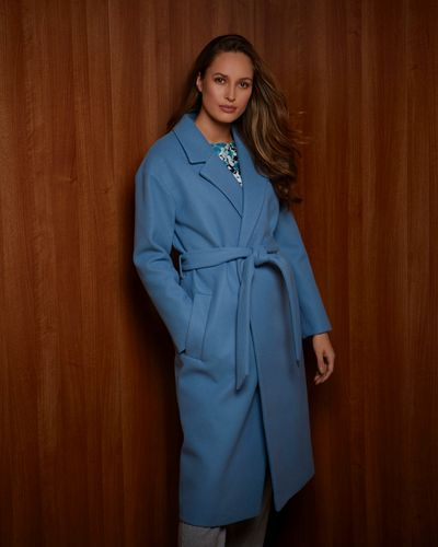 Gallery Belted Wrap Coat