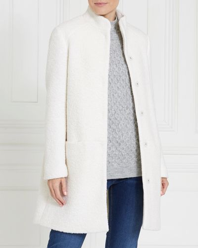 Gallery Boiled Wool Coat