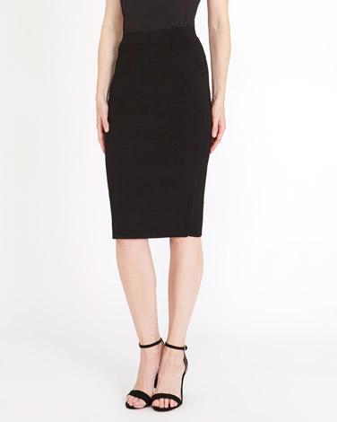 blackGallery Knit Pencil Skirt