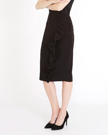 blackGallery Ruffle Skirt