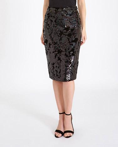 blackGallery Sequin Skirt