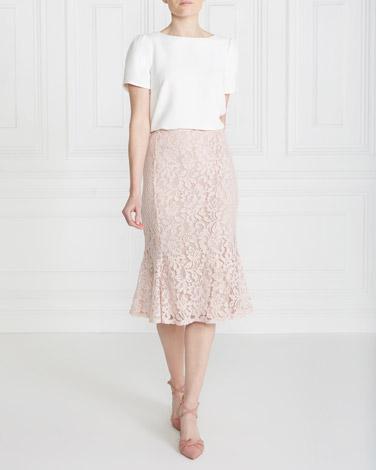 blushGallery Lace Skirt