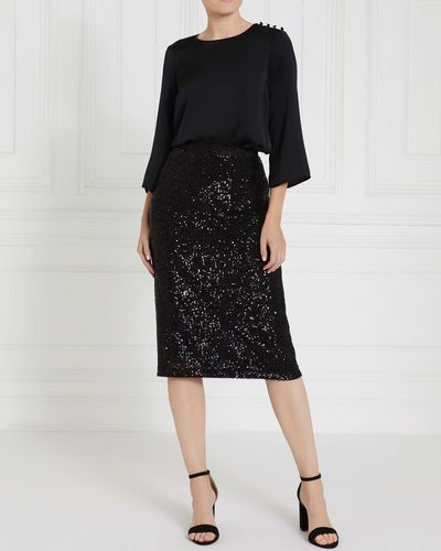 Gallery Sequin Skirt