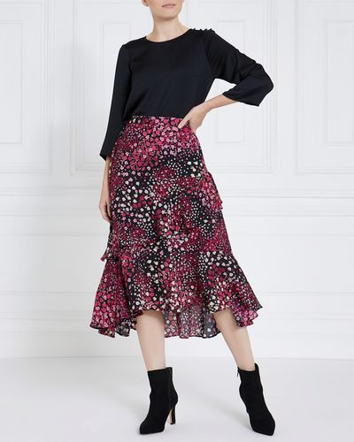 Gallery Double Ruffle Skirt
