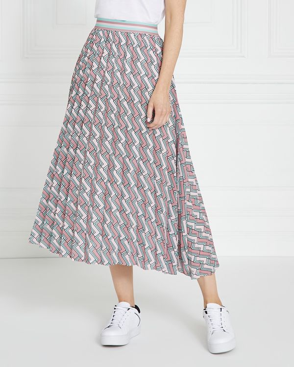 Gallery Houndstooth Skirt