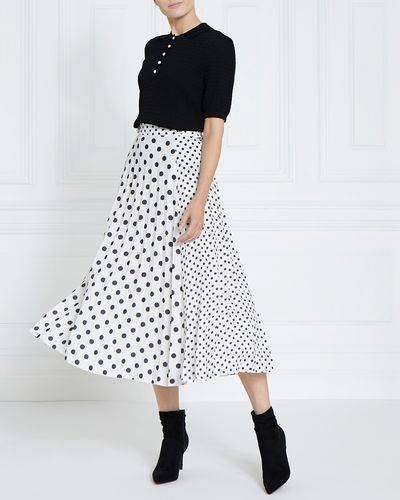 Gallery Mix Spot Skirt