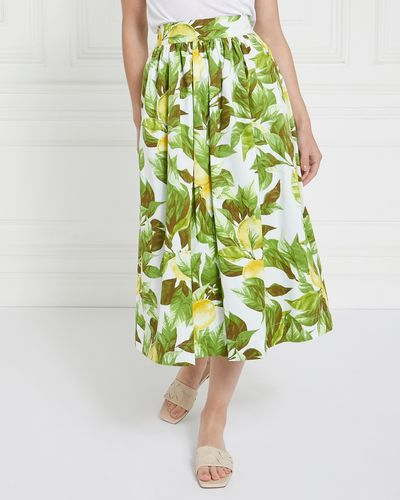 Gallery Andorra Lemon Skirt