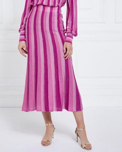 Gallery Marais Lurex Skirt
