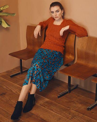 Gallery Amber Satin Skirt