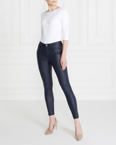 navyGallery Coated Jeans