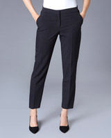 black Gallery Naples Straight Leg Trousers
