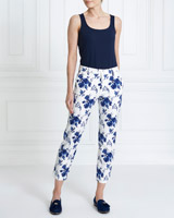 blue Gallery China Blue Trousers