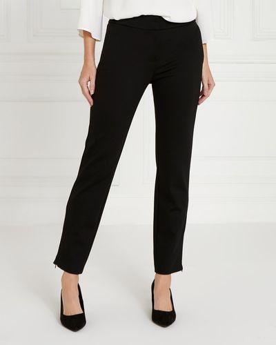 Gallery Zip Hem Ponte Trousers thumbnail