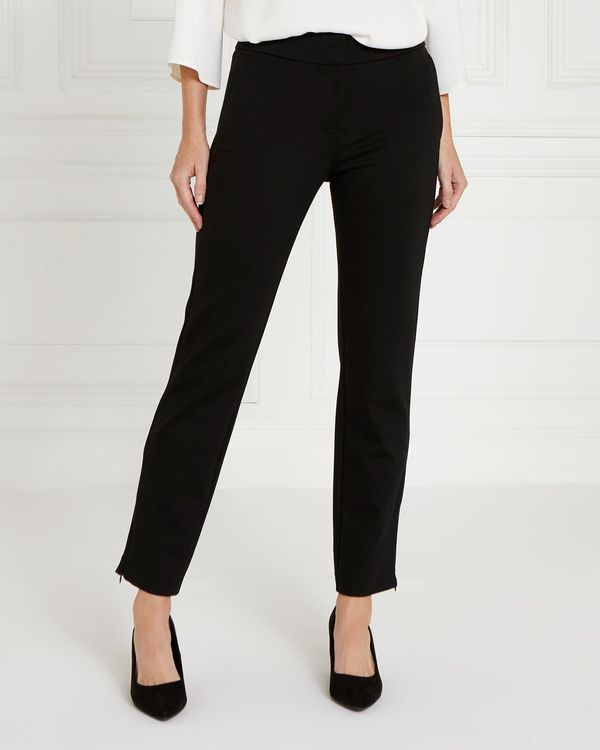Gallery Zip Hem Ponte Trousers