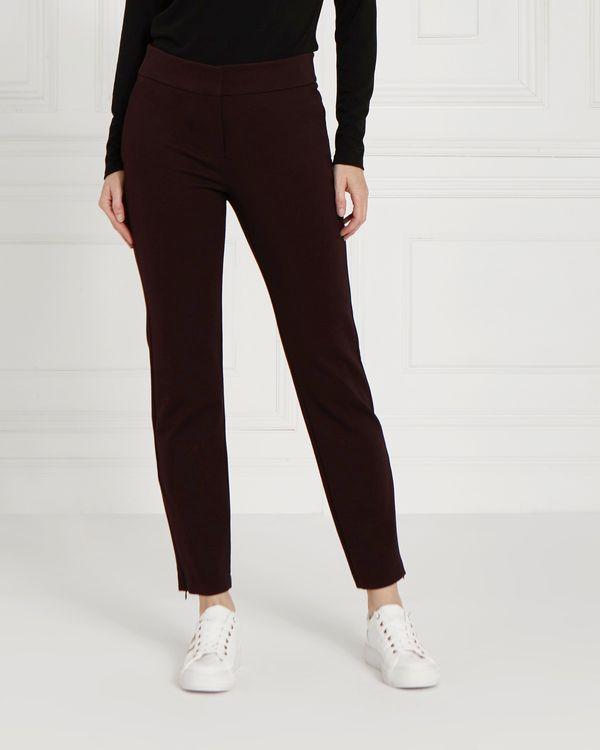 Gallery Zip Hem Ponte Trousers