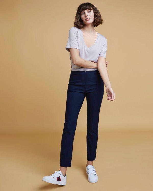 Gallery Elastic Back Trousers