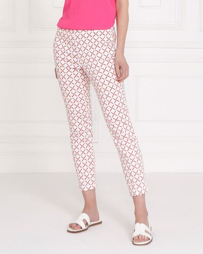 Gallery Printed Crop Trousers