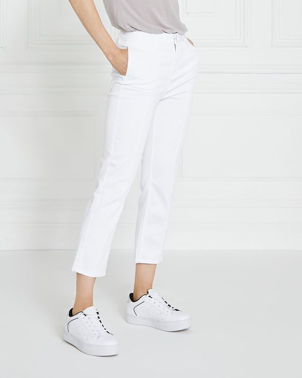 Gallery Cotton Sateen Crop Trousers