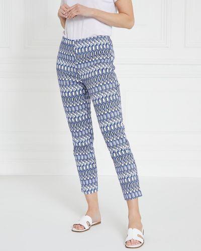 Gallery Printed Capri Trousers