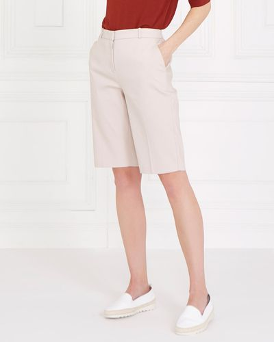 Gallery Compact Cotton Shorts