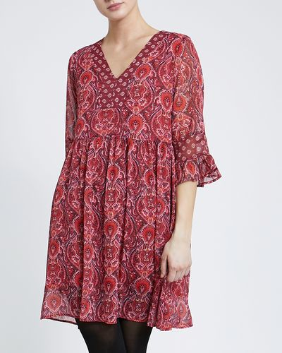 Gallery Tangier Paisley Mini Dress