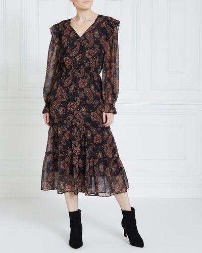 Gallery Paisley Maxi Dress
