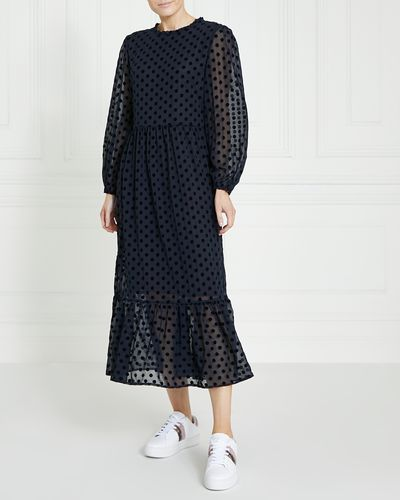 Gallery Spot Flock Dress