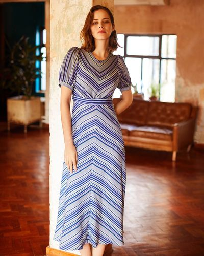 Gallery Chevron Dress