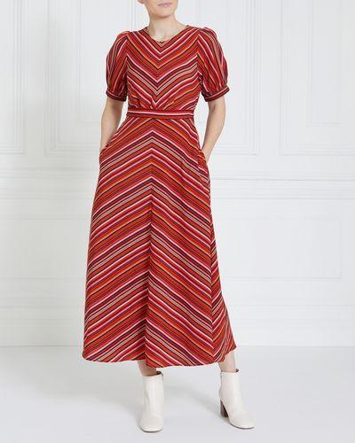 Gallery Chevron Dress
