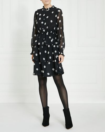 Gallery Spot Ruffle Dress