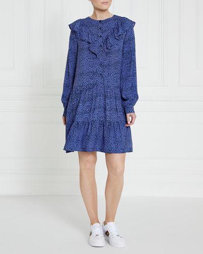 Gallery Ruffle Button Dress