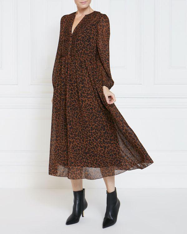 Gallery Animal Midi Dress